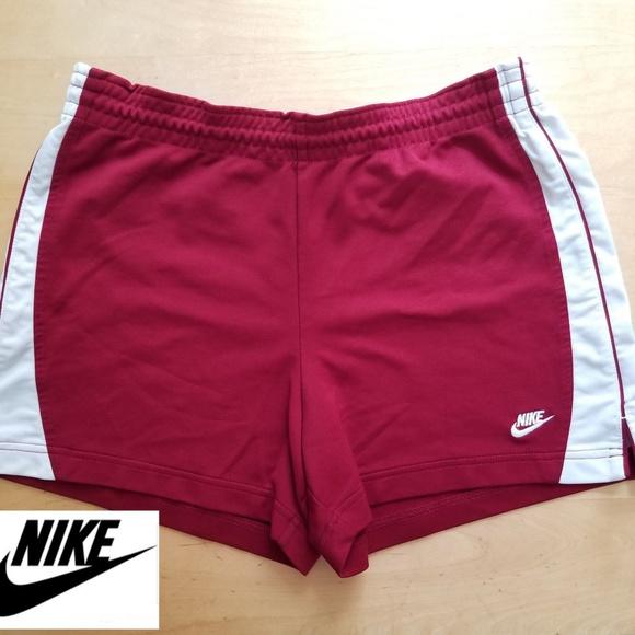 innovative design various design buying cheap Vintage Nike Running Shorts Maroon Sz Medium